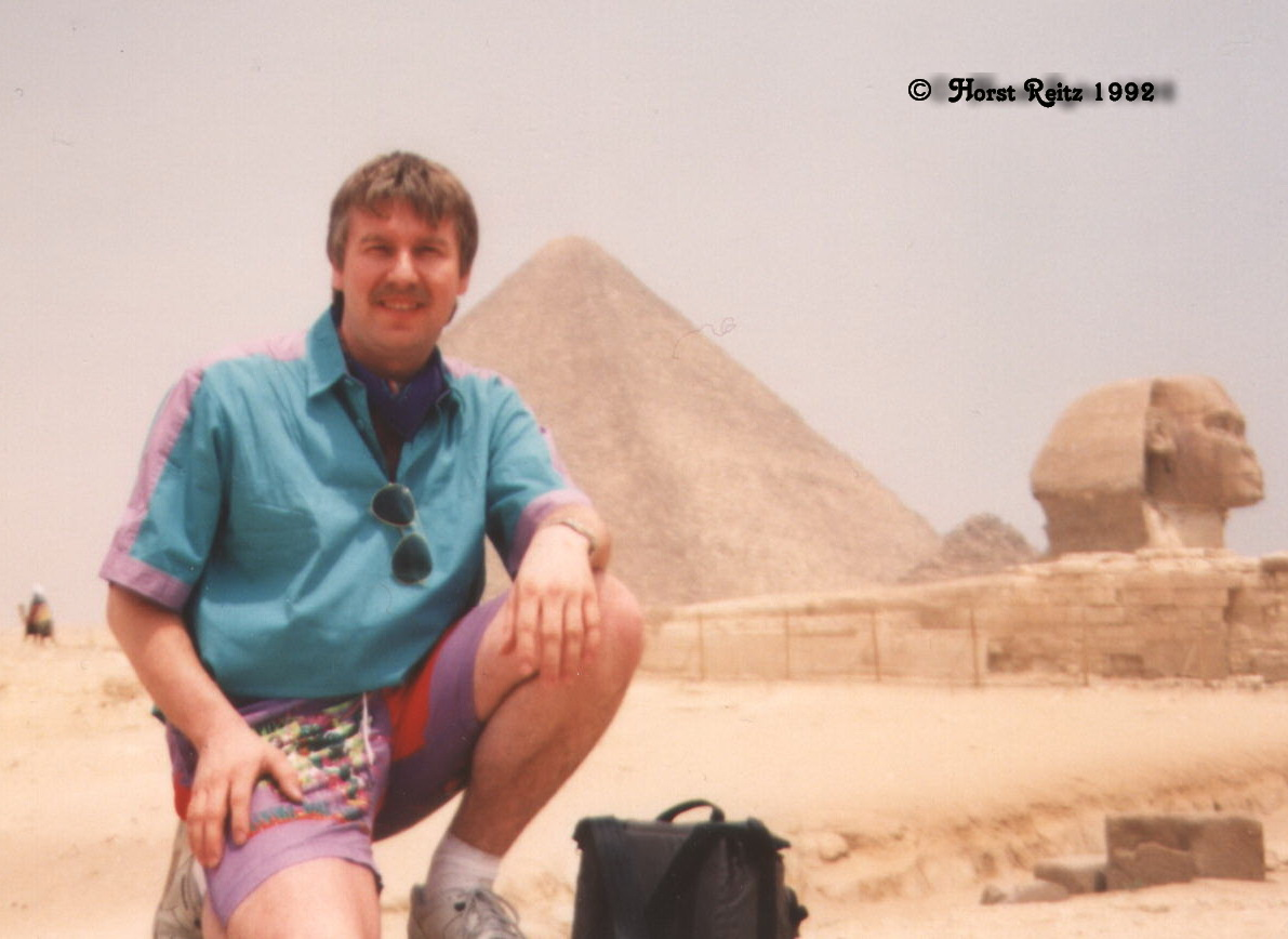 Horst Reitz, Gizeh / Ägypten 1992