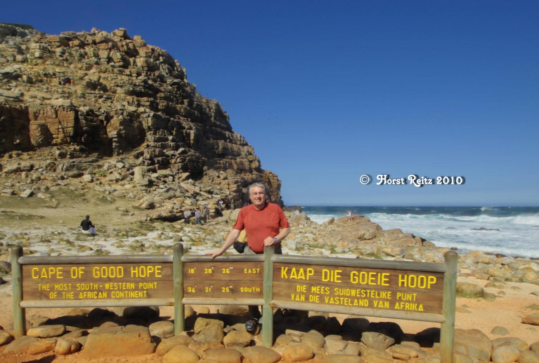 Horst Reitz, Kap der guten Hoffnung 2010