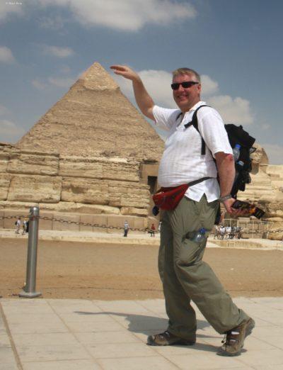 Horst Reitz in Ägypten