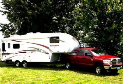 Camper in den USA mit Pick Up
