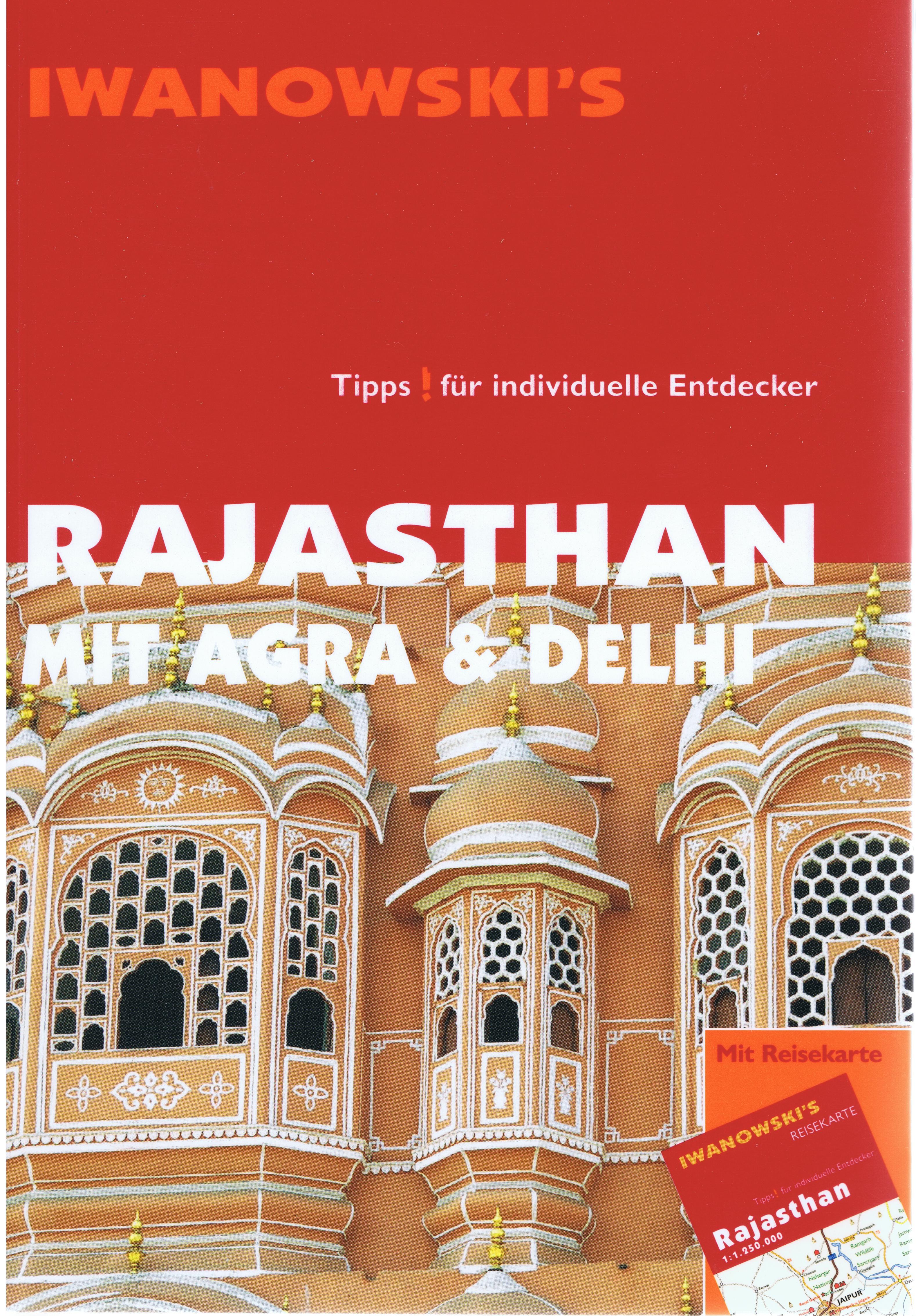 Iwanowski Rajastan mit Agra und Dehli 13 978-3-933041-62-3