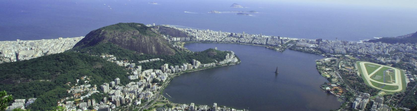 Rio de Janeiro vom Corcovado aus