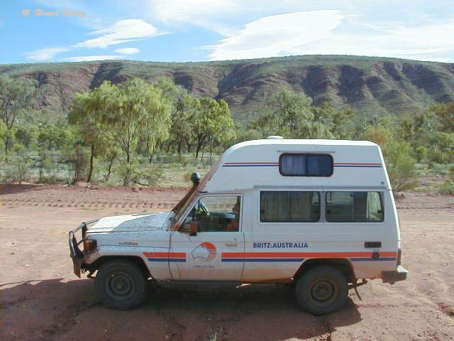 Britz Camper in Australien