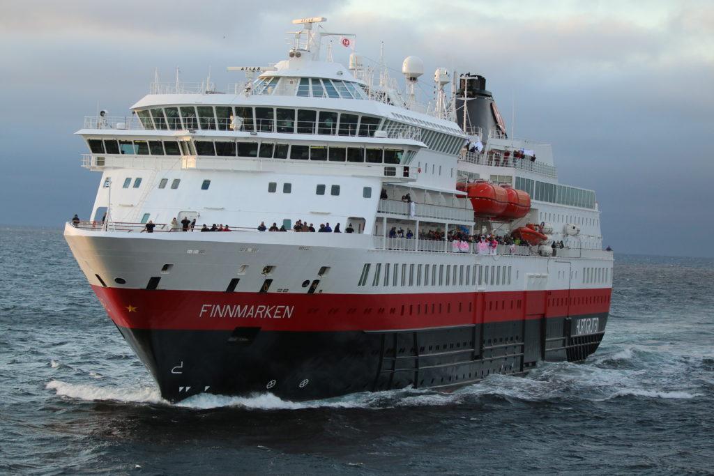Norwegen Hurtigruten MS Finnmarken