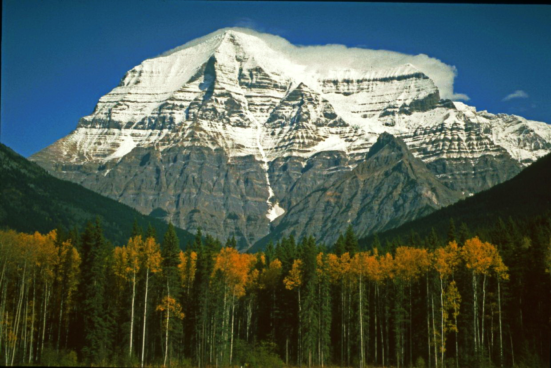 Kanada British Columbia Mount Robson 3954m Hoch, © Horst Reitz 1992