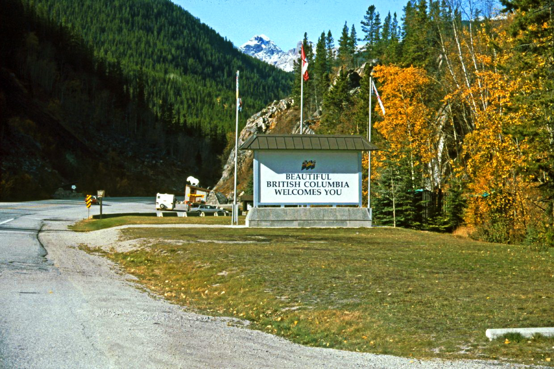 Grenze Alberta-British Columbia ©HorstReitz1992