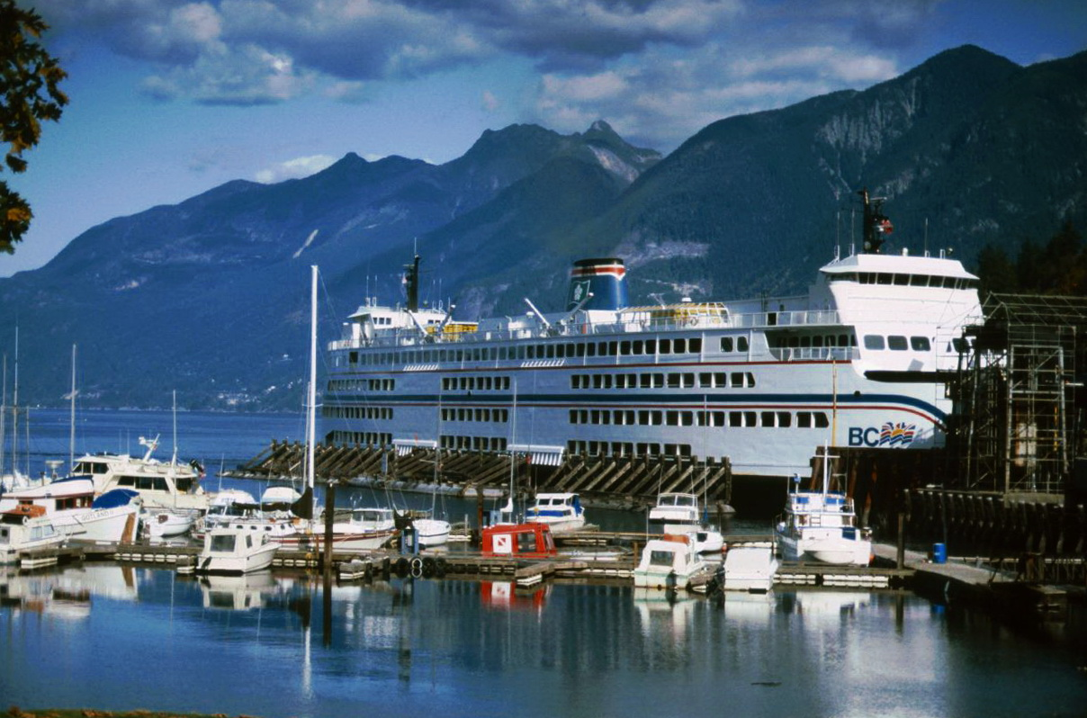 Nanaimo British Columbia Ferries ©HorstReitz1992