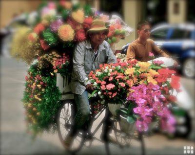 Blumenhändler ©Touristikerfotos.net