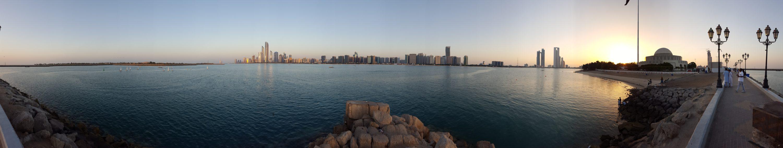 Abu Dhabi Promenade 2017 Jan ©HorstReitz