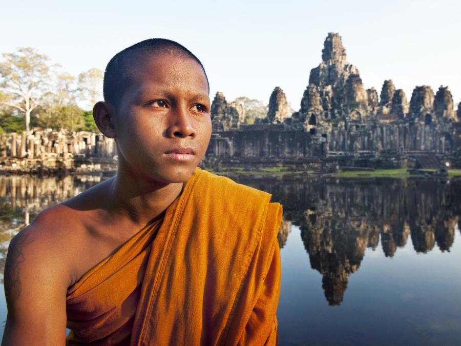 Kambodscha Siam Rep, Angkor Wat Mönch ©123RF