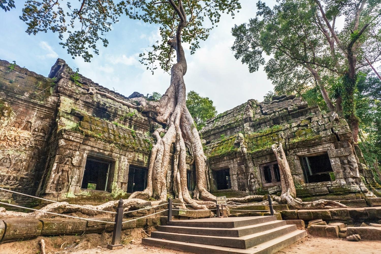 Siam Rep Angkor Wat Ta Prohm Tempel ©123RF