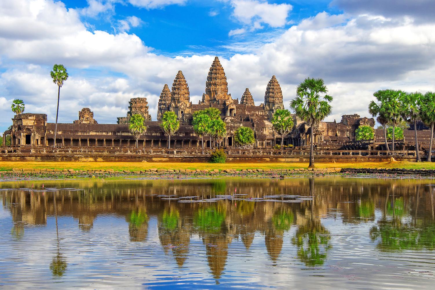 Kambodscha Siam Rep Angkor Wat Tempel ©123RF