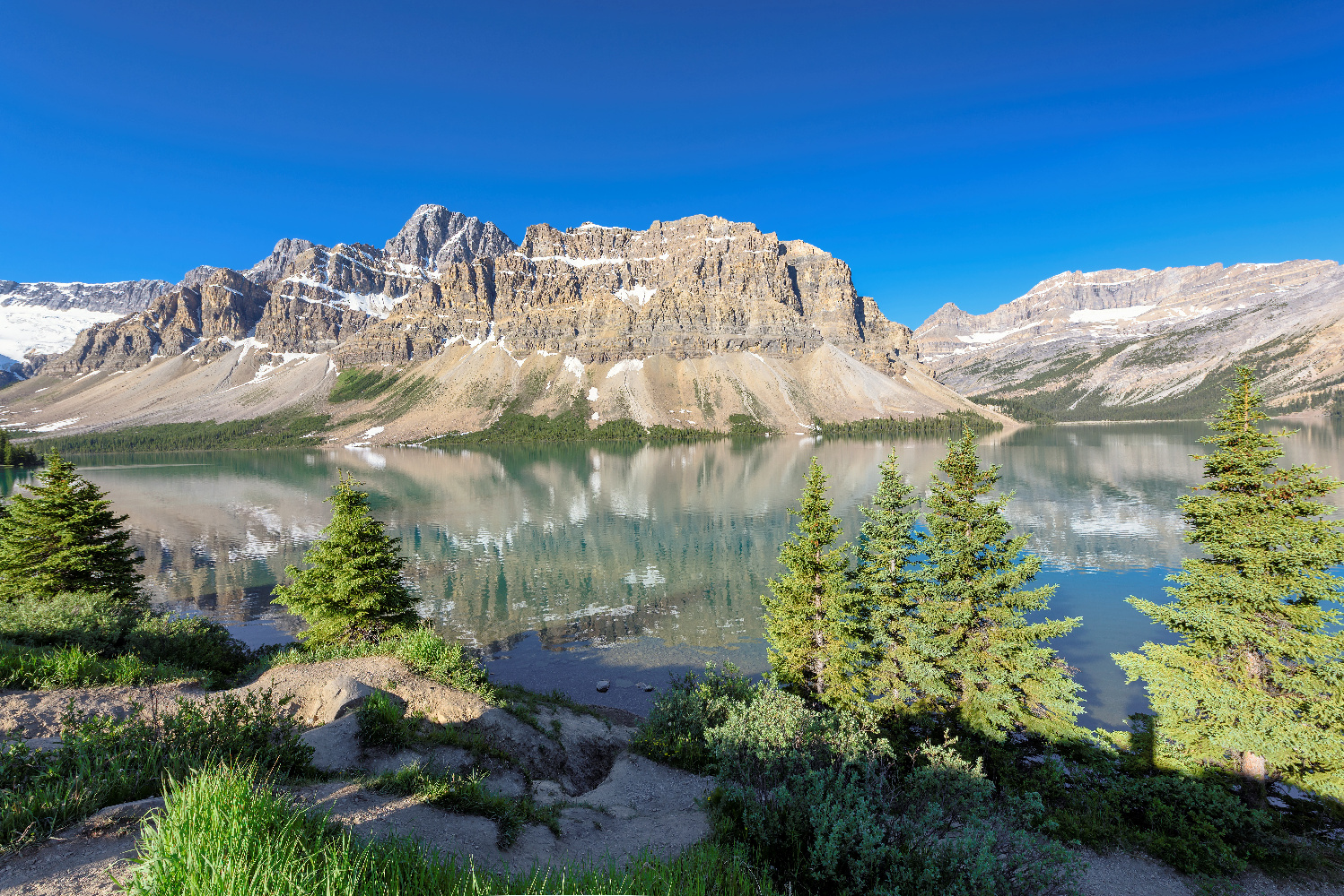 Alberta Banff Bow See am Icefields Parkway Rocky Mountains ©123RF