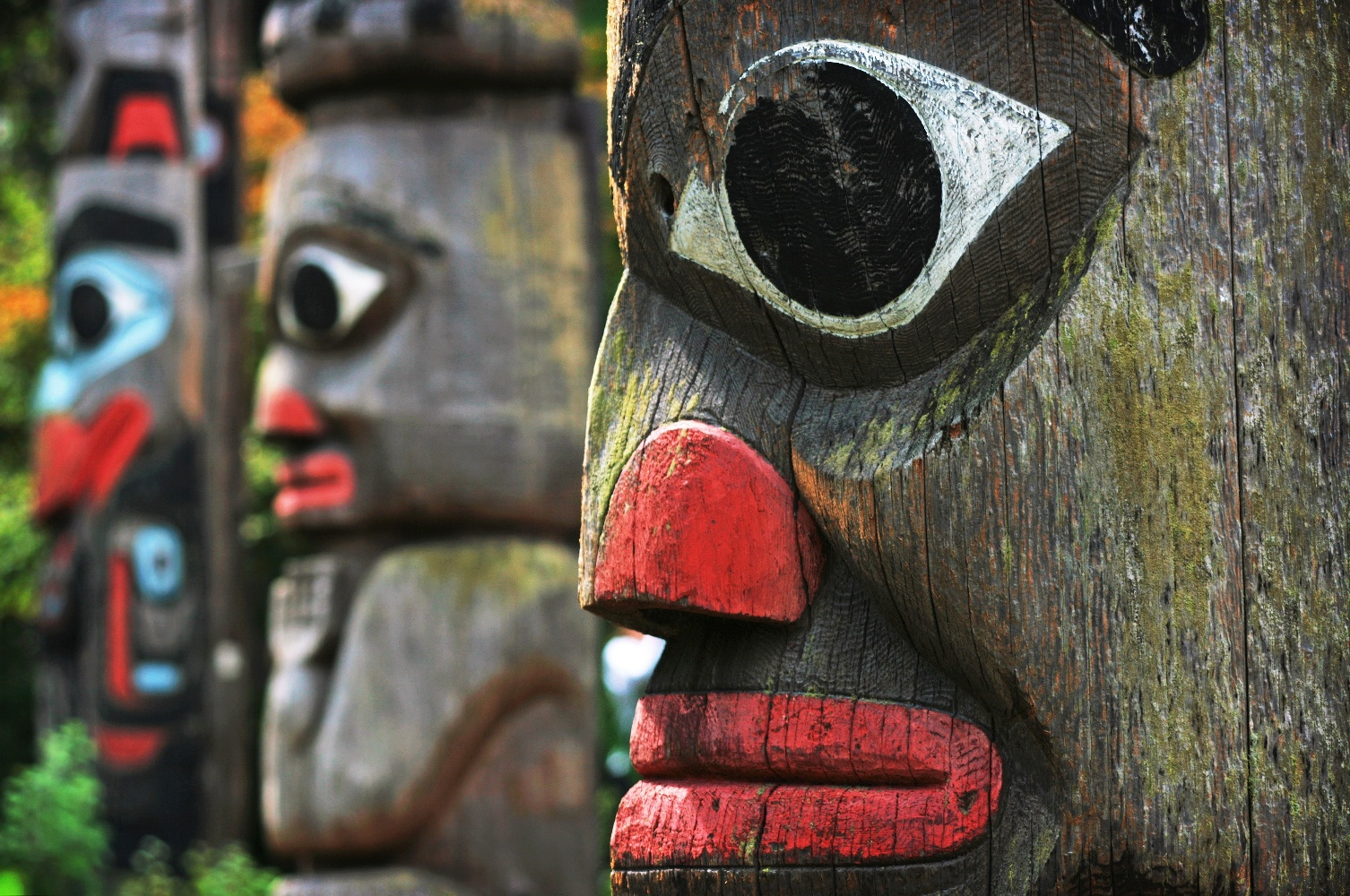 British Columbia Totempfähle ©123RF