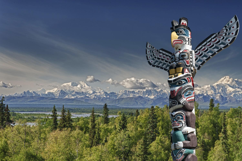 Kanada Totem Stamm ©123RF