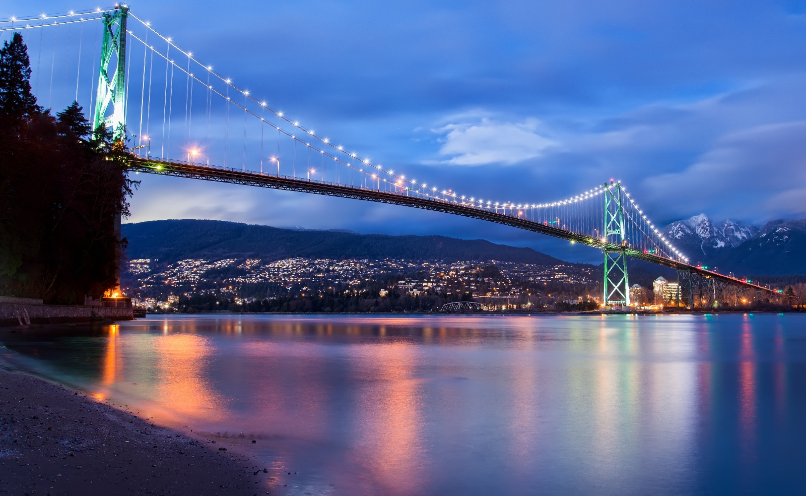 Vancouver Lions Gate Bridge ©123RF