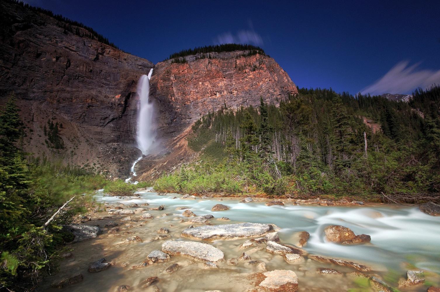 Kanada Yoho NP Takakkaw Falls ©123RF