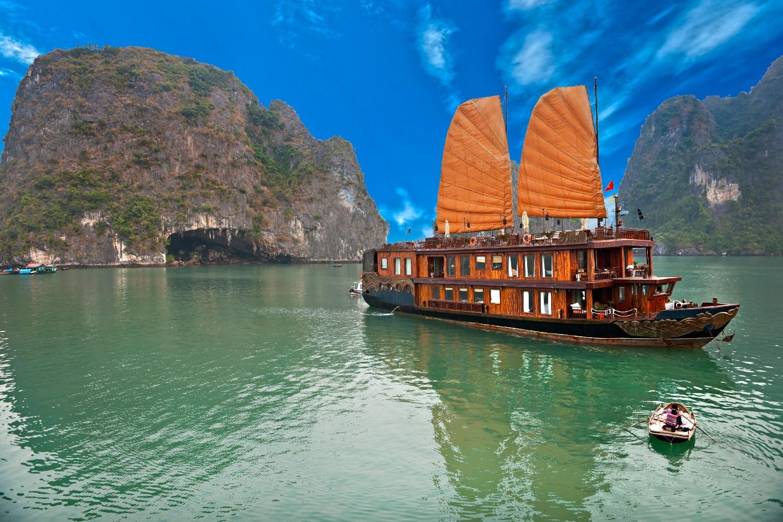 Vietnam Halong Bucht Hotelschiff ©123RF