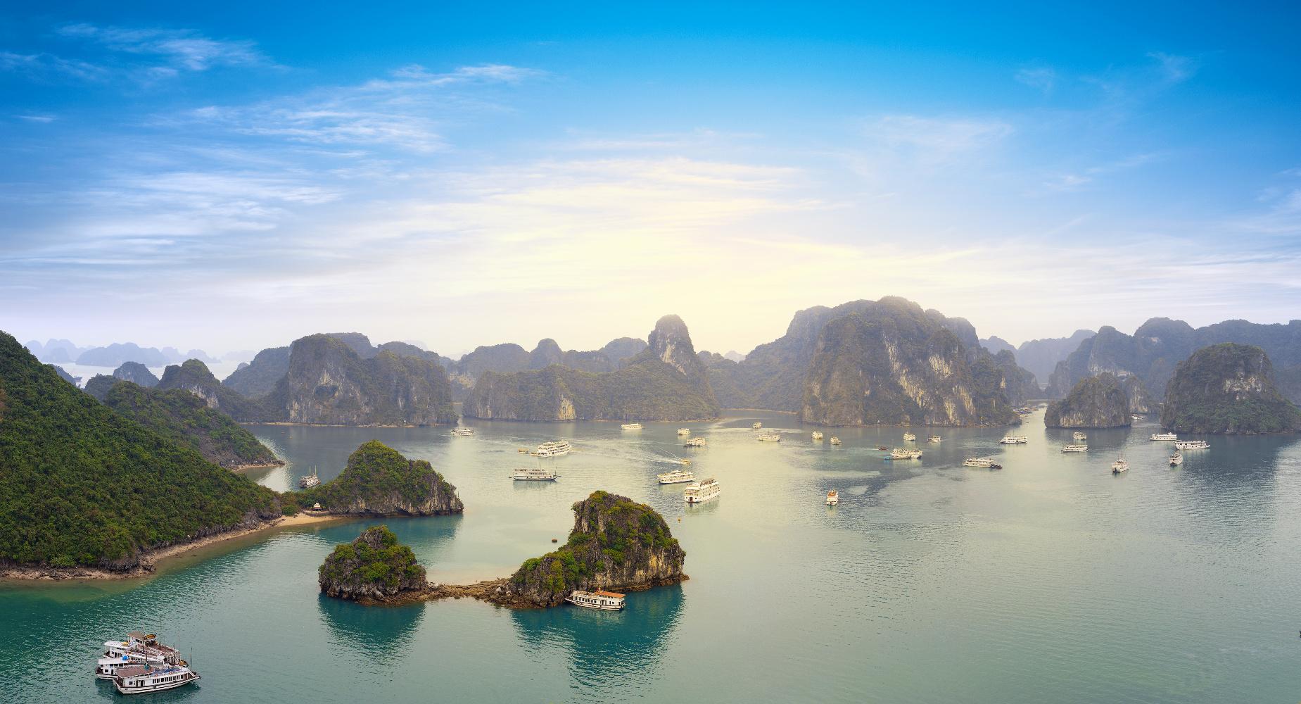 Vietnam Halong Bucht Panoramablick ©123RF