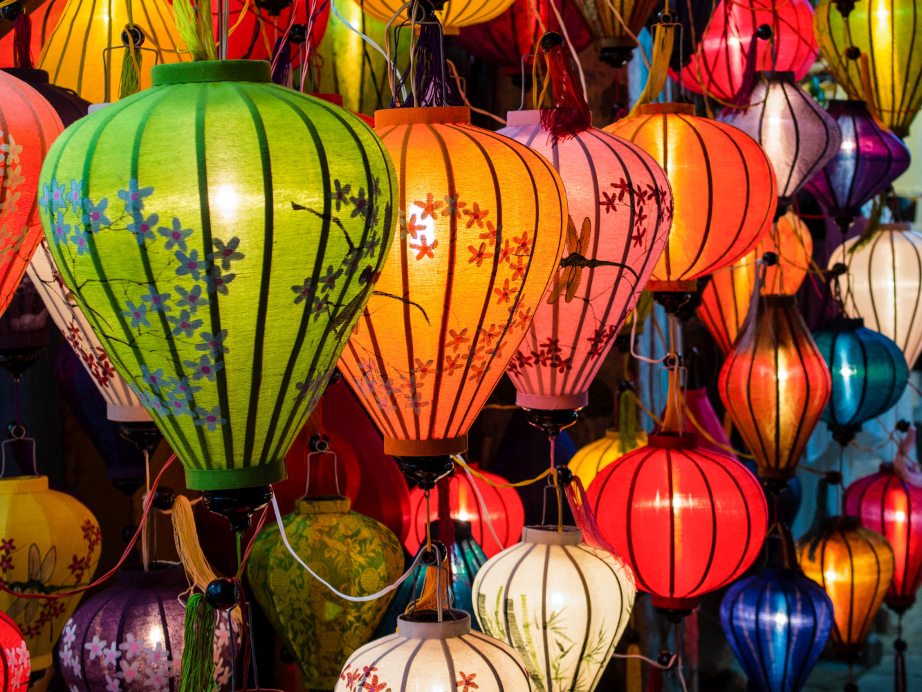 Vietnam Hoi An traditionelle Lampenferigung 123RF